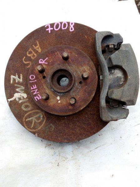 ступица TOYOTA WISH ZNE10 1ZZ-FE 2005-2009 передний правый