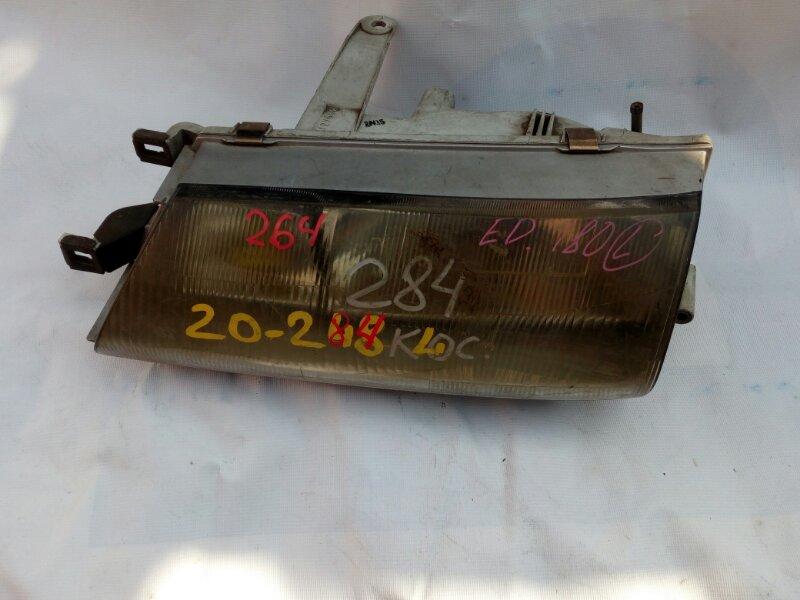 фара TOYOTA CARINA ED ST180 4S-Fi 1989-1993  левый