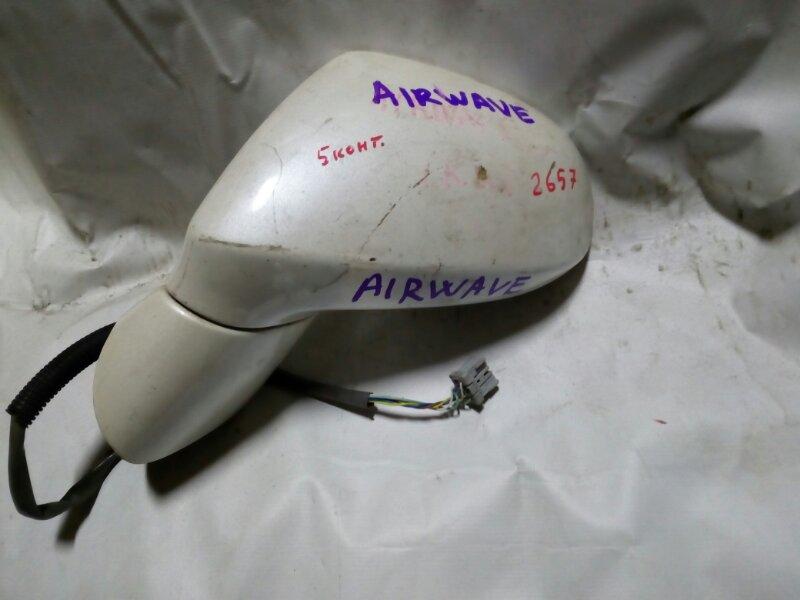 зеркало HONDA AIRWAVE GJ1 L15A 2005-2010  левый