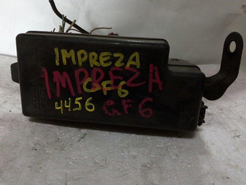 блок предохранителей SUBARU IMPREZA GF1 EJ151 1996-2000