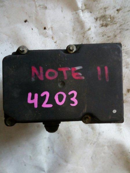 блок ABS NISSAN NOTE E11 HR15DE 2005-2012