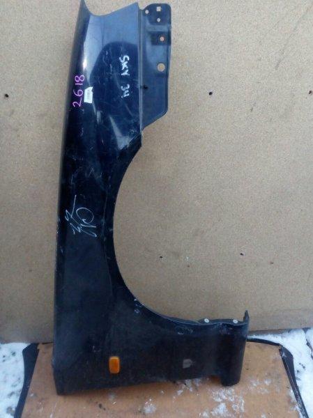 крыло NISSAN SKYLINE HR34 RB20DE 1998-2001 передний правый