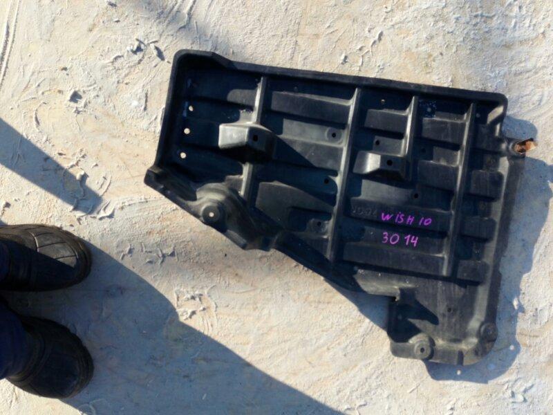 защита двигателя TOYOTA WISH ZNE10 1ZZ-FE 2005-2009  левый