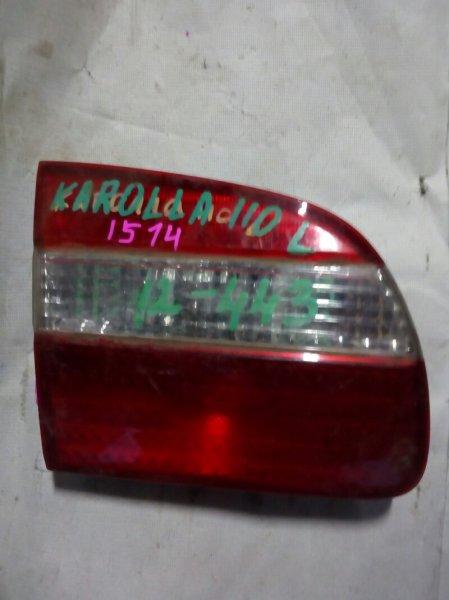 вставка багажника TOYOTA COROLLA AE110 5A-FE 1997-2000  левый
