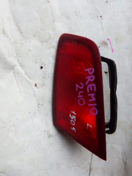 вставка багажника TOYOTA PREMIO ZZT240 1ZZ-FE 2001-2007  левый
