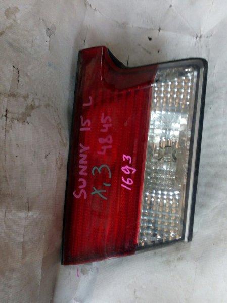 вставка багажника NISSAN SUNNY FB15 QG15DE 1998-2002  левый