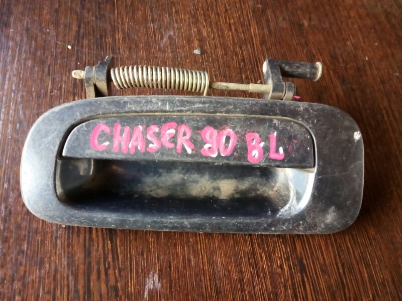 ручка двери внешняя TOYOTA CHASER GX90 1G-FE 1992-1996 задний левый