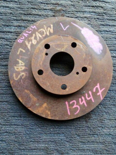 диск тормозной TOYOTA MARK II WAGON QUALIS MCV21 2MZ-FE 1997-2002 передний левый