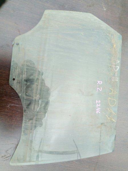 стекло двери NISSAN AD VFY11 QG15DE 1999-2008 задний правый
