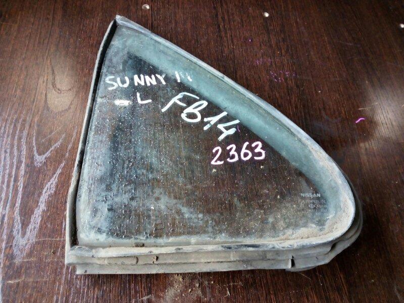 форточка двери NISSAN SUNNY FB14 GA15DE 1993-1999  левый