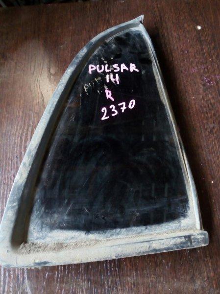 форточка двери NISSAN PULSAR FN14 GA15DS 1990-1994  правый