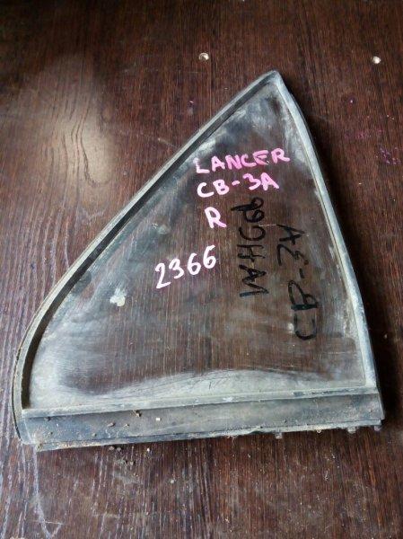 форточка двери MITSUBISHI LANCER CB3A 4G91 1991-1995  правый