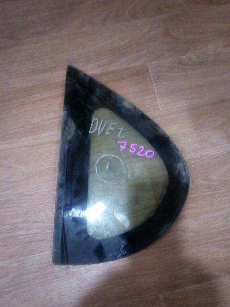 стекло собачника TOYOTA DUET M100A EJ-VE 1998-2004  левый