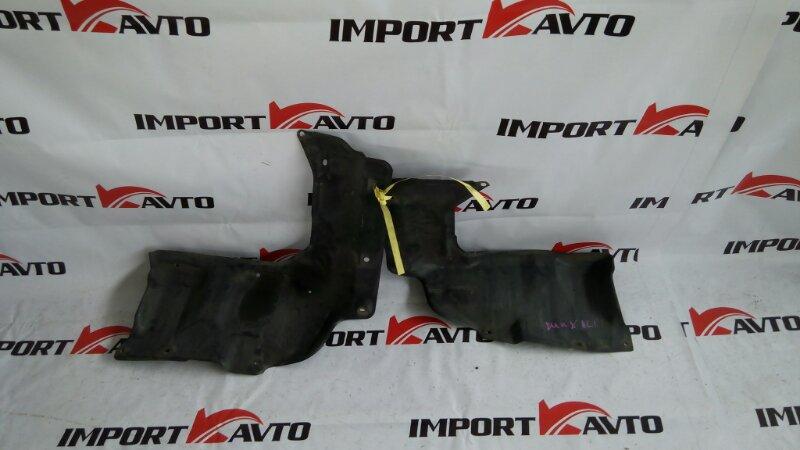 защита двигателя TOYOTA COROLLA RUNX NZE121 1NZ-FE 2001-2002