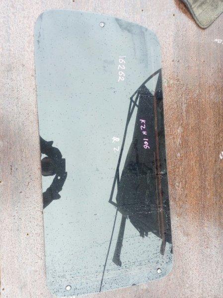 стекло двери TOYOTA HIACE KZH106W 1KZ-TE 1993-2004 задний правый