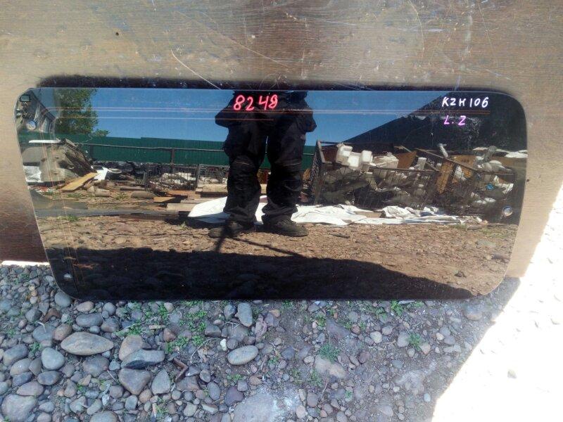 стекло двери TOYOTA HIACE KZH106W 1KZ-TE 1993-2004 задний левый