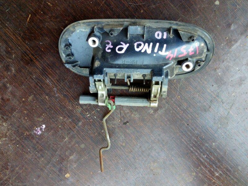 ручка двери внешняя NISSAN TINO HV10 SR20DE 1998-2003 задний правый