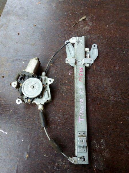 стеклоподъемник NISSAN TINO HV10 SR20DE 1998-2003 задний правый