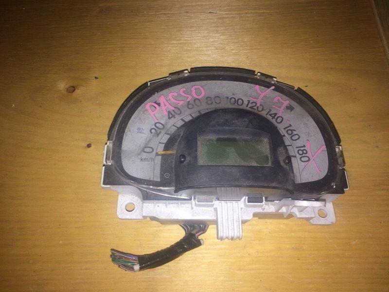 щиток приборов TOYOTA PASSO KGC10 1KR-FE 2004-2010