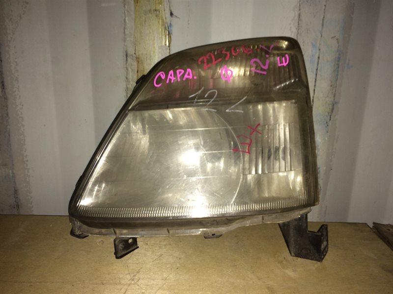 фара HONDA CAPA GA4 D15B 1998-2002  левый