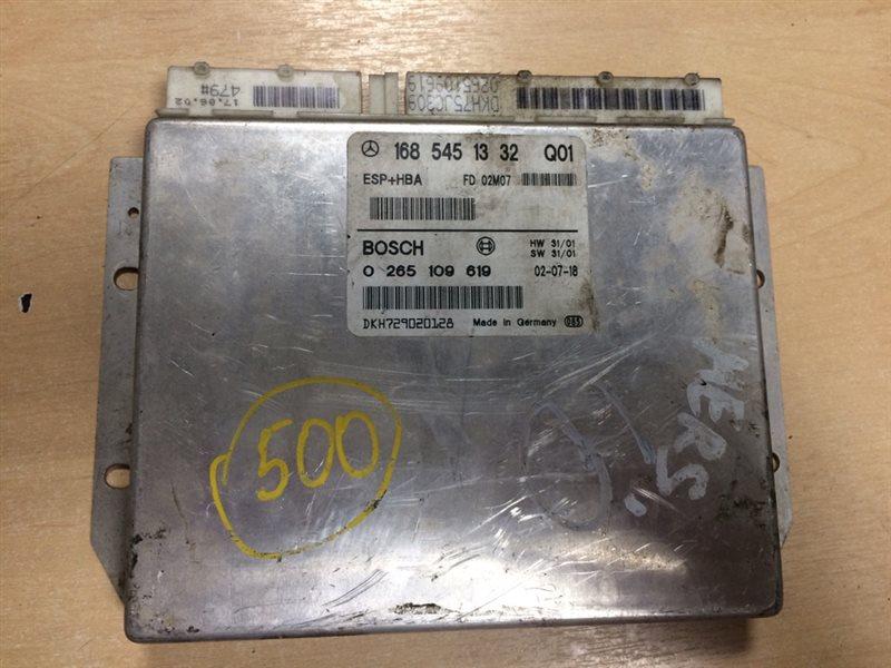 блок управления MERCEDES-BENZ A-CLASS W168 M 166 E 16 1997-2001