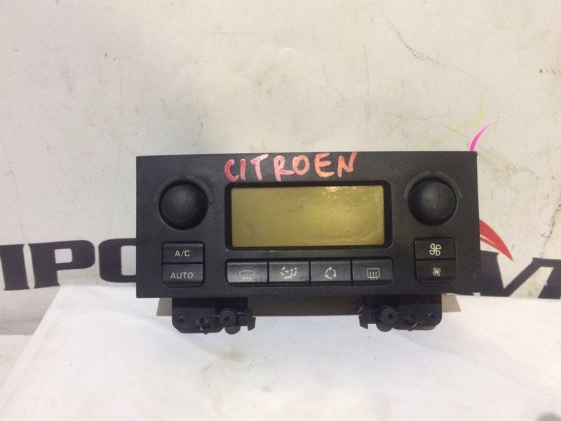 блок управления климат-контролем CITROEN C4 LC EW10A 2004-2008