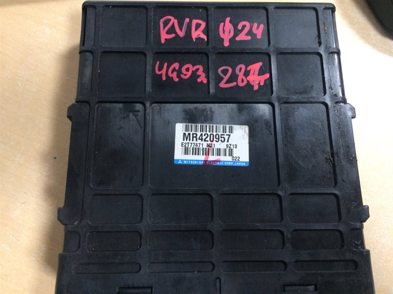 блок управления двигателя MITSUBISHI RVR N61W 4G93-GDI 1997-2002