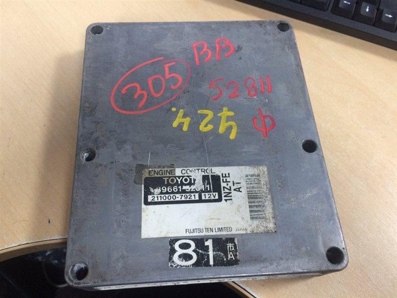 блок управления двигателя TOYOTA BB NCP31 1NZ-FE 2000-2005