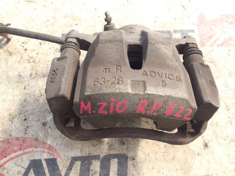 суппорт тормозной TOYOTA MARK X ZIO ANA10 2AZ-FE 2007-2011 передний правый