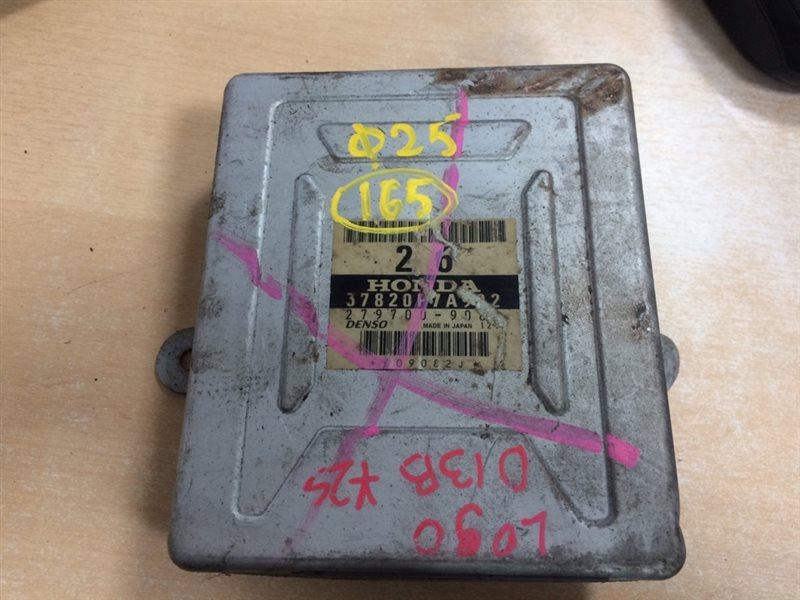 блок управления двигателя HONDA LOGO GA3 D13B 1996-2001