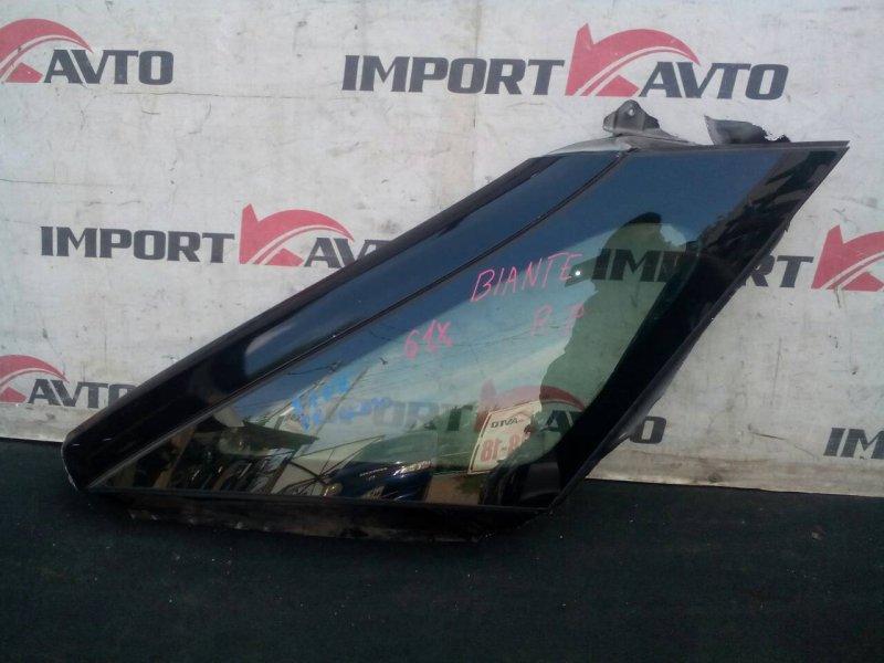 стекло собачника MAZDA BIANTE CCEFW LF-VD 2008-2018 передний правый