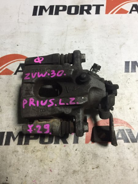 суппорт тормозной TOYOTA PRIUS ZVW30 2ZR-FXE 2009-2015 задний левый