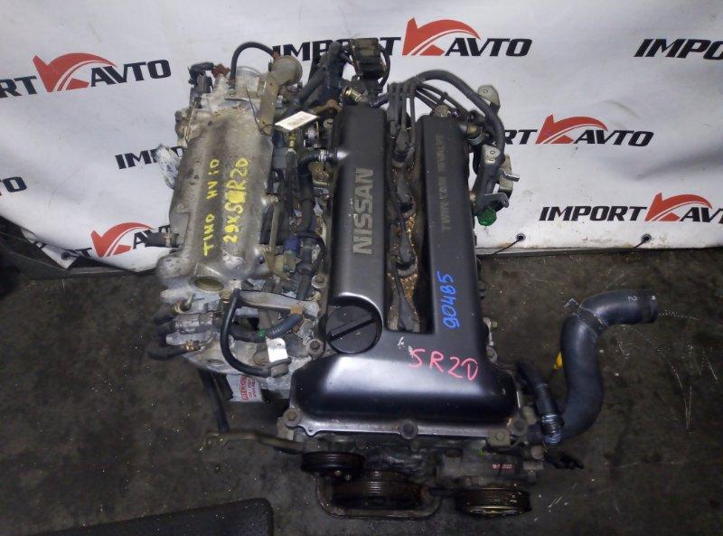 двигатель NISSAN TINO HV10 SR20DE 1998-2003