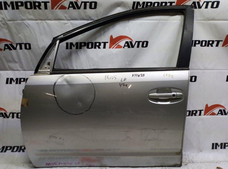 дверь TOYOTA PRIUS NHW20 1NZ-FXE 2003-2005 передний левый