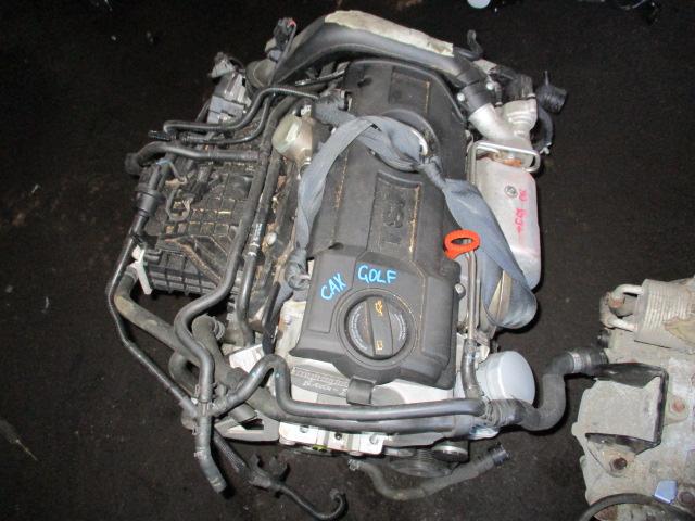 двигатель VOLKSWAGEN GOLF 5K1 CAXA 2008-2013