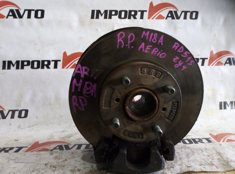 ступица SUZUKI AERIO RD51S M18A 2004-2006 передний правый