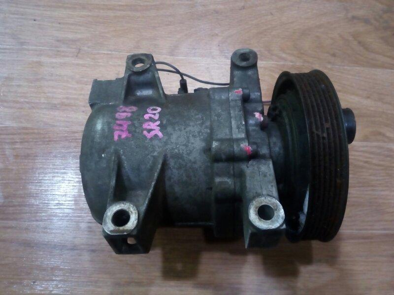 компрессор кондиционера NISSAN BLUEBIRD EU14 SR20DE