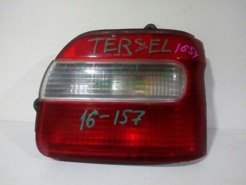 вставка багажника TOYOTA TERCEL EL51 4E-FE 1997-1999  правый