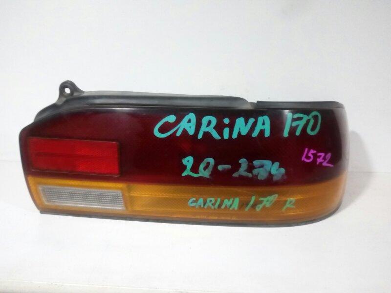 стоп-сигнал TOYOTA CARINA AT171 4A-FE 1988-1992  правый