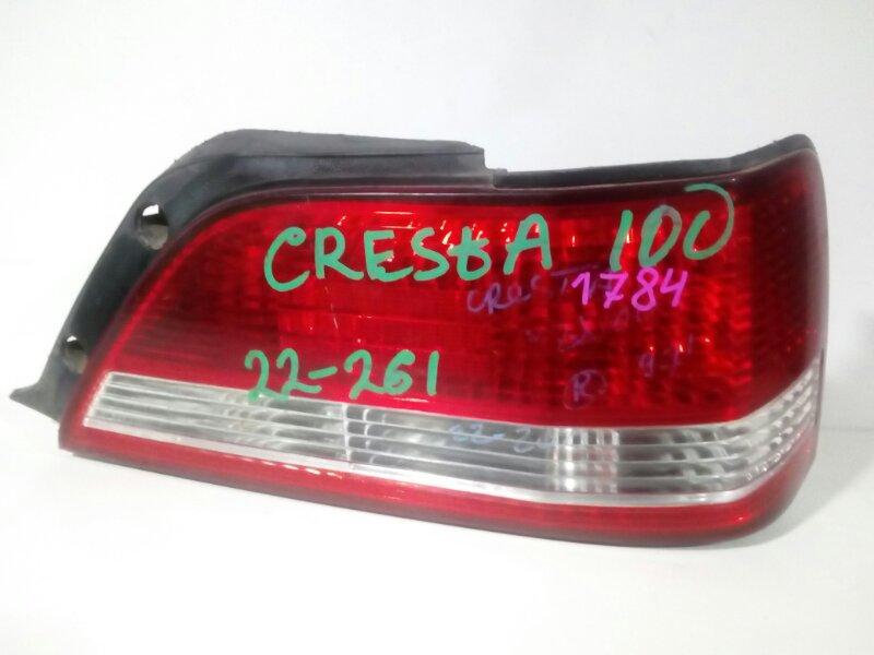 стоп-сигнал TOYOTA CRESTA GX100 1G-BEAMS 1996-1998  правый