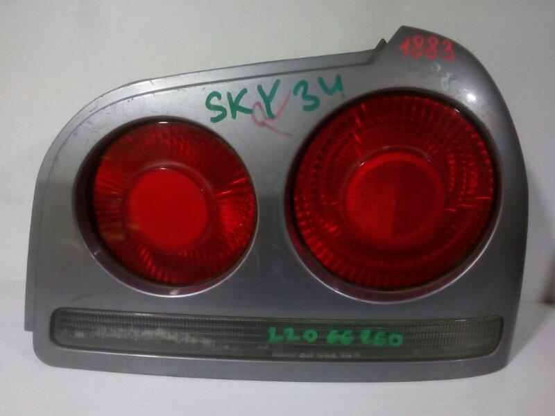 стоп-сигнал NISSAN SKYLINE HR34 RB20DE 1998-2001  правый