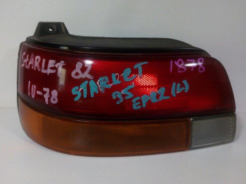 стоп-сигнал TOYOTA STARLET EP82 4E-FE 1989-1995  левый
