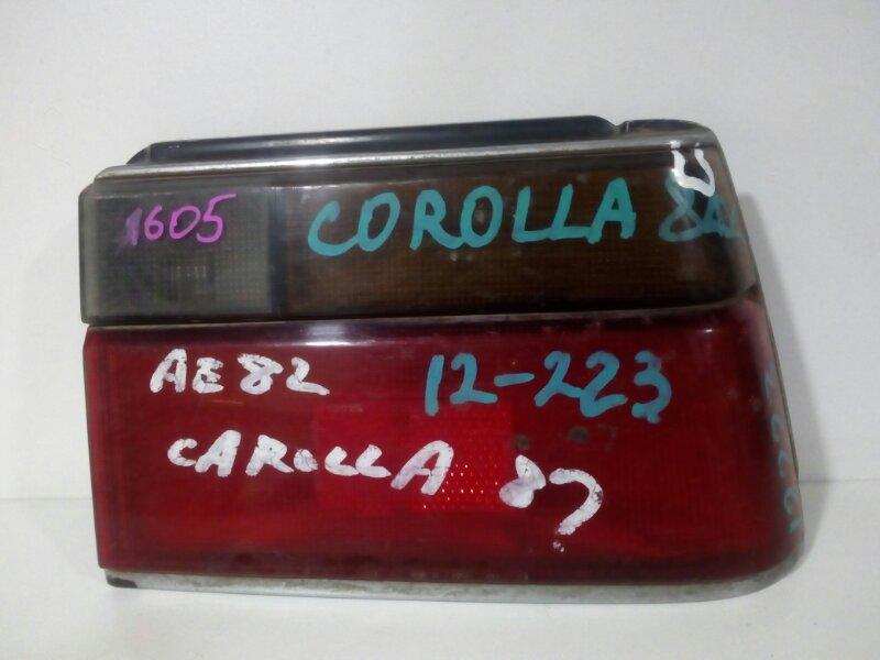 стоп-сигнал TOYOTA COROLLA AE81 3A-LU   правый