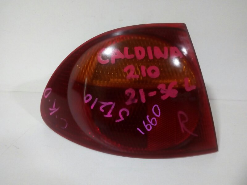 стоп-сигнал TOYOTA CALDINA ST210 3S-FE 1997-1999  левый