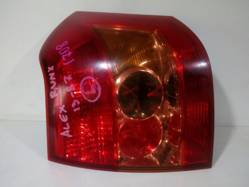 стоп-сигнал TOYOTA ALLEX NZE121 1NZ-FE 2004-2006  левый