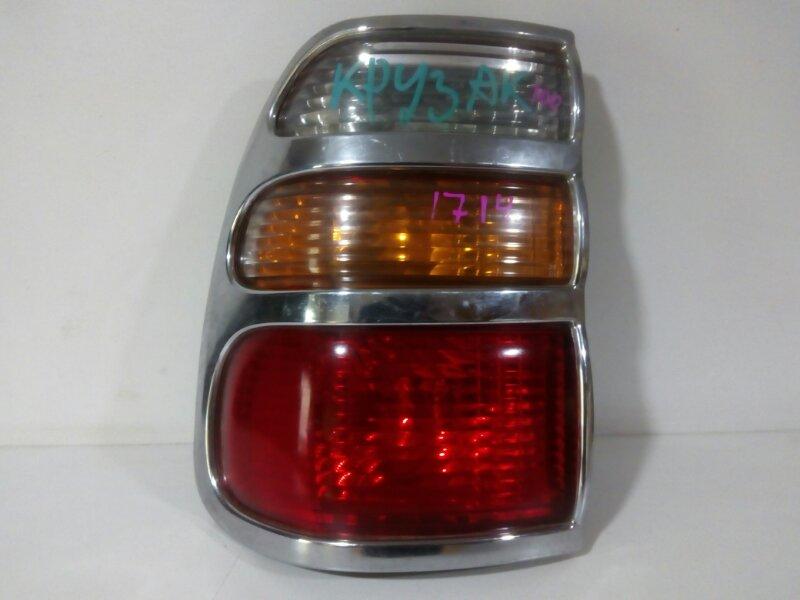 стоп-сигнал TOYOTA LAND CRUISER UZJ100 2UZ-FE 1998-2002  левый