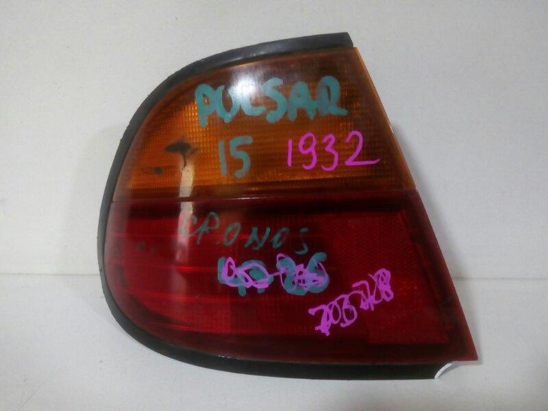 стоп-сигнал NISSAN PULSAR FN15 GA15DS 1995-1997  левый