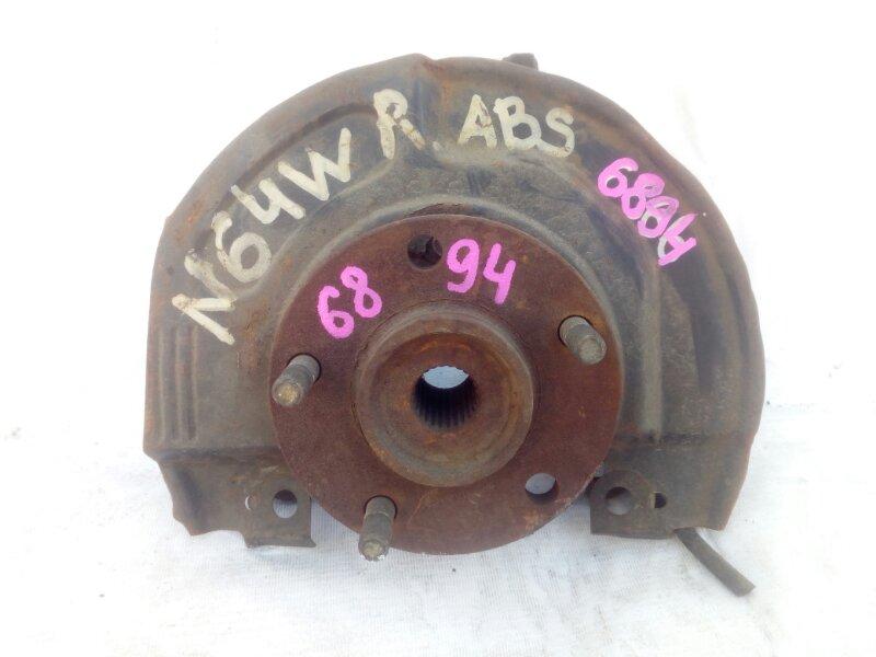 ступица MITSUBISHI RVR N64W 4G64 1999-2002 передний правый