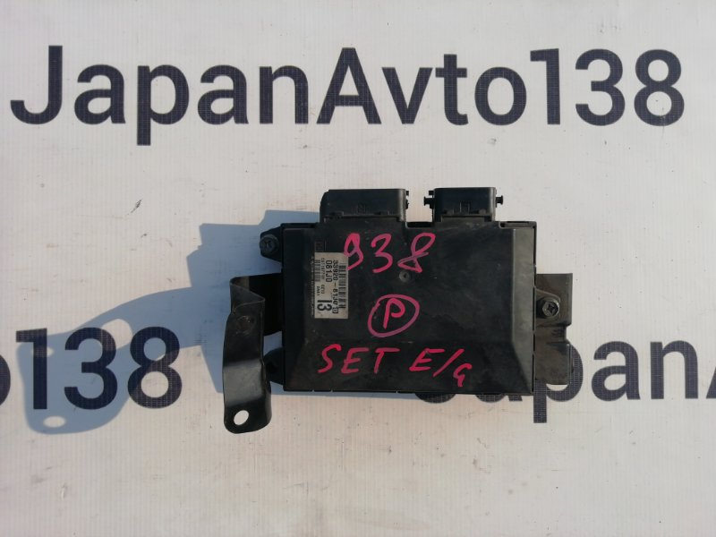 блок управления двигателя NISSAN MOCO MG22S K6A 2006-2011