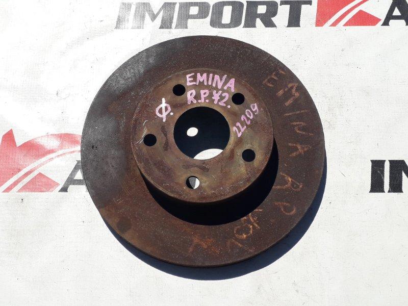 диск тормозной TOYOTA ESTIMA EMINA TCR20 2TZ-FE 1992-1999 передний